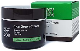 Parfums et Produits cosmétiques Crème à l'extrait de centella asiatica pour visage - XYcos Cica Green Cream