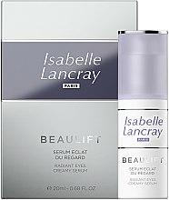 Parfums et Produits cosmétiques Sérum anti-poches et anti-cernes pour le contour des yeux - Isabelle Lancray Beaulift Radiant Eye Creamy Serum
