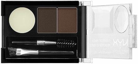 Fards à sourcils - NYX Professional Makeup Eyebrow Cake Powder