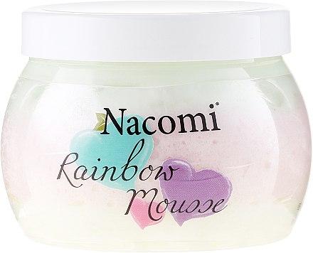 Mousse à l'arôme de pastèque pour corps - Nacomi Rainbow Mousse