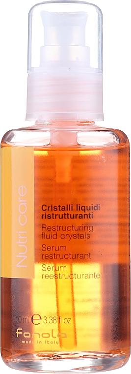 Sérum restructurant aux cristaux liquides pour cheveux - Fanola Nutry Care Restructuring Fluid