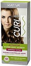 Parfums et Produits cosmétiques Activateur de boucles sans sulfates - Kativa Keep Curl Superfruit Active