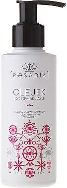 Huile démaquillante délicate à l'huile de rose, géranium et vitamine E - Rosadia