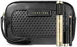 Parfums et Produits cosmétiques Kit (mascara/13ml + crayon pour contour des yeux/0.8g + trousse de toilette) - Collistar Mascara Volume Unico Gift Set