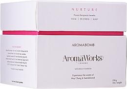Parfums et Produits cosmétiques Bombe de bain, Verveine exotique et Bois de Santal - AromaWorks Nurture Aroma Bath Bomb