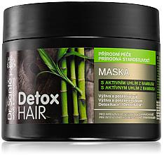 Parfums et Produits cosmétiques Masque au charbon de bambou pour cheveux - Dr. Sante Detox Hair Mask