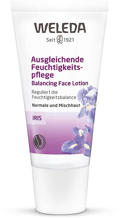 Soin équilibrant à l'iris pour visage - Weleda Iris Feuchtigkeitscreme — Photo N1
