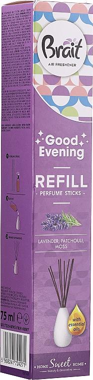 Bâtonnets parfumés, Lavande (recharge) - Brait Home Sweet Home Good Evening