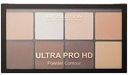 Parfums et Produits cosmétiques Palette de contour pour visage - Makeup Revolution HD Pro Powder Contour