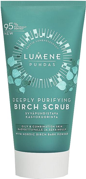 Gommage au bouleau pour visage - Lumene Puhdas Deeply Purifying Birch Scrub