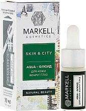 Parfums et Produits cosmétiques Hydrofluide contour des yeux, Trémelle fucus - Markell Cosmetics Skin&City Face Mask