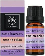 Parfums et Produits cosmétiques Mélange d'huiles essentielles - Apivita Aromatherapy Essential Oil Time to Relax