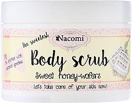 Parfums et Produits cosmétiques Gommage corporel à l'arôme de gaufres au miel - Nacomi Body Scrub Sweet Honey Wafers