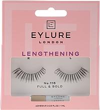 Parfums et Produits cosmétiques Faux-cils avec colle №116 - Eylure Lengthening False Eyelashes No.116