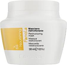 Parfums et Produits cosmétiques Masque aux protéines de lait pour cheveux - Fanola Nutri Care Restructuring Mask