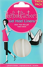 Parfums et Produits cosmétiques Coussinets en gel pour pieds - The Foot Factory Gel Heel Liner Twin Pack