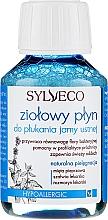 Parfums et Produits cosmétiques Bain de bouche aux herbes (mini) - Sylveco Herbal Mouthwash