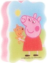 Parfums et Produits cosmétiques Éponge de bain pour enfants Peppa pig, Peppa avec un jouet - Suavipiel Peppa Pig Bath Sponge