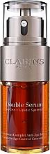 Coffret cadeau - Clarins Double Serum & Super Restorative (ser/30ml + cr/15ml + n/cr/15ml + bag) — Photo N3