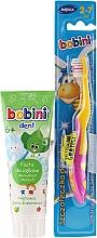 Parfums et Produits cosmétiques Bobini - Lot (brosse à dents + dentifrice/75ml)