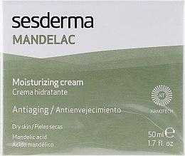 Crème hydratante à l'acide mandélique pour visage - SesDerma Laboratories Mandelac Moisturizing Cream — Photo N1