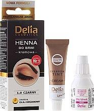 Parfums et Produits cosmétiques Henné en crème pour sourcils - Delia Cosmetics Cream Eyebrow Dye