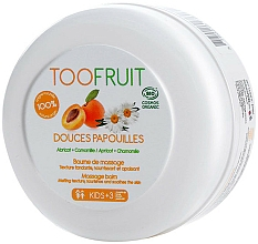 Parfums et Produits cosmétiques Baume de massage pour corps, Abricot et Camomille - TOOFRUIT Apricot Chamomile Massage Balm