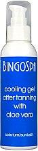 Parfums et Produits cosmétiques Gel rafraîchissant après-soleil à l'aloe vera pour corps - BingoSpa Cooling Gel
