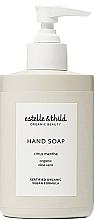 Parfums et Produits cosmétiques Savon liquide à l'aloe vera pour mains, Menthe citronnée - Estelle & Thild Citrus Menthe Citrus Menthe Hand Soap