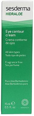 Crème au jus d'aloe vera contour des yeux - SesDerma Laboratories Hidraloe Eye Contour Cream — Photo N1