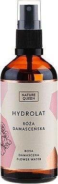 Hydrolat à la rose de Damas - Nature Queen
