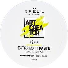 Parfums et Produits cosmétiques Pâte coiffante à finition mate et tenue moyenne - Brelil Art Creator Extra Matt Paste