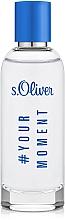 Parfums et Produits cosmétiques S.Oliver #Your Moment - Eau de Toilette