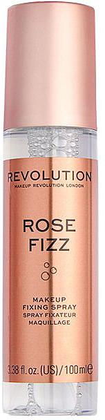 Spray fixateur de maquillage - Makeup Revolution Precious Stone Rose Fizz Makeup Fixing Spray — Photo N1