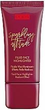 Parfums et Produits cosmétiques Enlumineur liquide - Pupa Sparkling Attitude Fluid Face Highlighter Radiant Effect