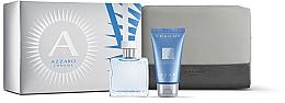 Parfums et Produits cosmétiques Azzaro Chrome - Coffret (eau de toilette/30ml + shampooing/50ml + trousse de toilette)