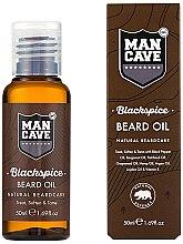 Parfums et Produits cosmétiques Huile d'argan, jojoba et bergamote pour barbe - Man Cave Blackspice Beard Oil
