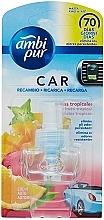 Parfums et Produits cosmétiques Recharge pour diffuseur électrique, Fruits tropicaux - Ambi Pur Air Freshener Refill Tropical Fruits