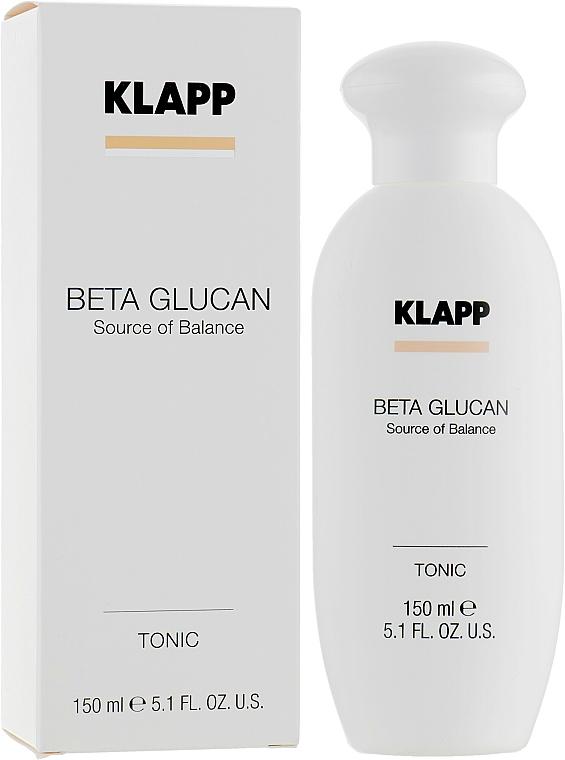 Lotion tonique au jus d'aloe vera - Klapp Beta Glucan Tonic — Photo N1
