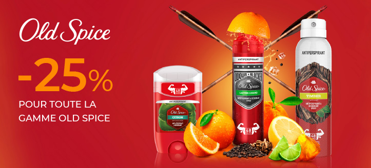 Promotion de Old Spice