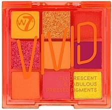 Parfums et Produits cosmétiques Palette de fards à paupières - W7 Vivid Fluorescent & Fabulous Pressed Pigments