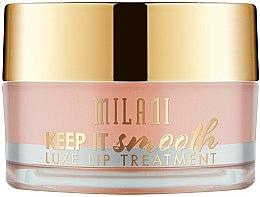 Parfums et Produits cosmétiques Baume à lèvres lissant intense au beurre de karité et huile d'olive - Milani Keep It Smooth Luxe Lip Treatment