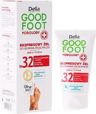Gel express anti-callosités - Delia Cosmetics Good Foot Podology Nr 3.2