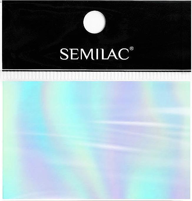Papier à ongles - SEMILAC Transfer Foil (1pcs) — Photo N1