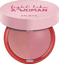 Parfums et Produits cosmétiques Duo blush - Pupa Fight A Like Woman Extreme Duo Blush