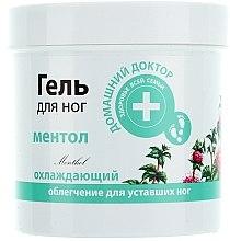 Parfums et Produits cosmétiques Gel au menthol pour jambes - Domashnyi Doctor