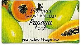 Parfums et Produits cosmétiques Savon végétal, Papaye - Florinda Papaya Natural Soap