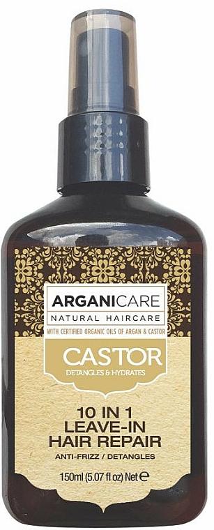 Sérum à l'huile de ricin pour cheveux - Argaincare Castor Oil 10-in-1 Hair Repair