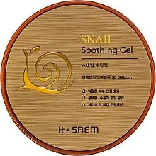 Parfums et Produits cosmétiques Gel apaisant à l'extrait de bave d'escargot pour visage - The Saem Snail Soothing Gel