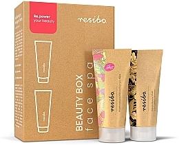 Parfums et Produits cosmétiques Resibo Beauty Box Face Spa - Set (masque exfoliant+masque raffermissant)